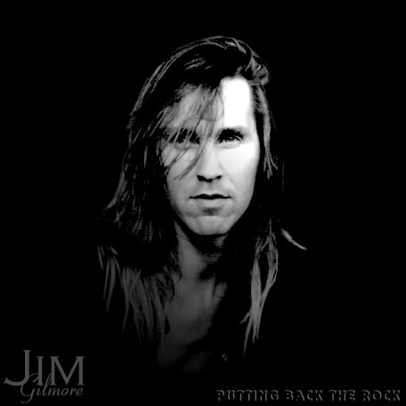 Jim Gilmore album Putting Back The Rock featuring Nuno Bettencourt on guitar.